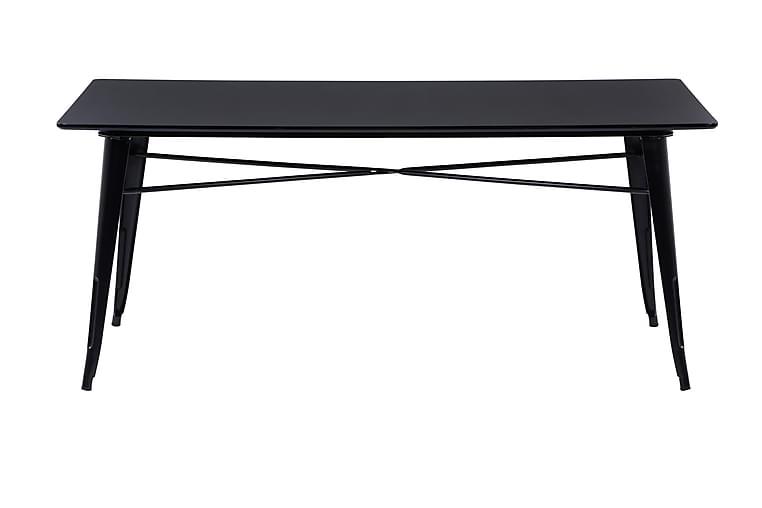 Ruokapöytä Kollerud 149 cm - Musta - Huonekalut - Pöydät - Ruokapöydät & keittiön pöydät