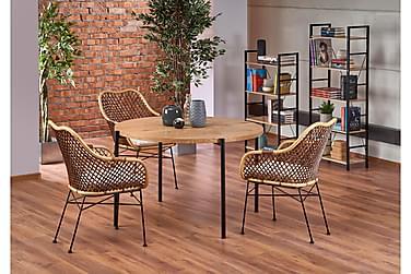Ruokapöytä Lanark 120 cm Pyöreä