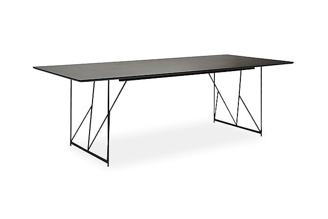 Ruokapöytä Linz 235 cm - Musta - Huonekalut - Pöydät - Ruokapöydät & keittiön pöydät