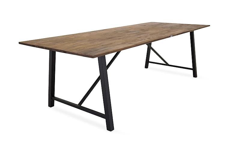 Ruokapöytä Matea - Puu/Musta - Huonekalut - Pöydät - Ruokapöydät & keittiön pöydät