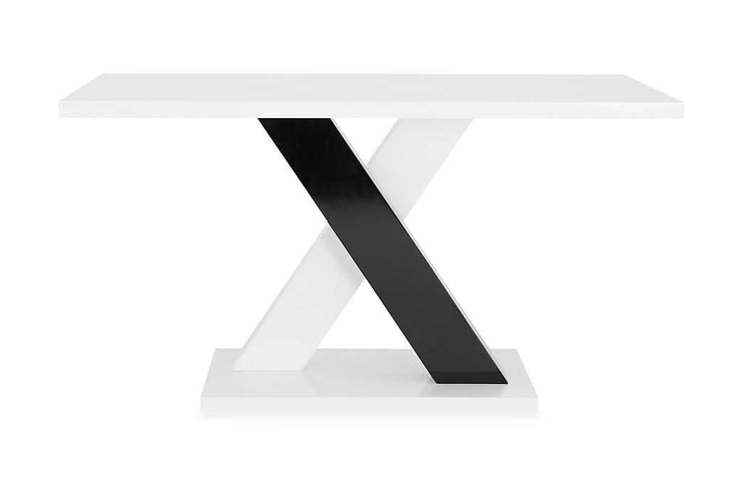 Ruokapöytä Mendoza 140 cm - Valkoinen - Huonekalut - Pöydät - Ruokapöydät & keittiön pöydät