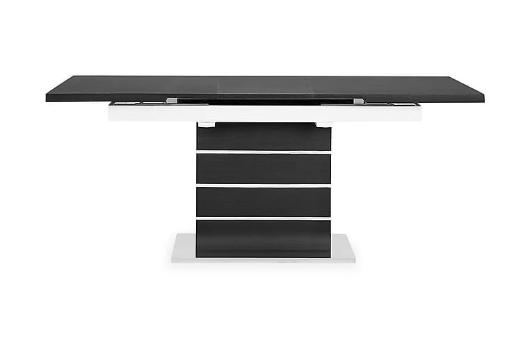 Ruokapöytä Mueller Jatkettava 140 cm - Musta/Valkoinen - Huonekalut - Pöydät - Ruokapöydät & keittiön pöydät