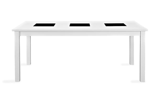 Ruokapöytä Octavia Jatkettava 180 cm - Valkoinen - Huonekalut - Pöydät - Ruokapöydät & keittiön pöydät