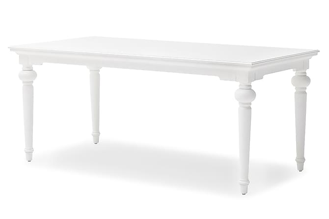 Ruokapöytä Provence 200 cm - Valkoinen - Huonekalut - Pöydät - Ruokapöydät & keittiön pöydät