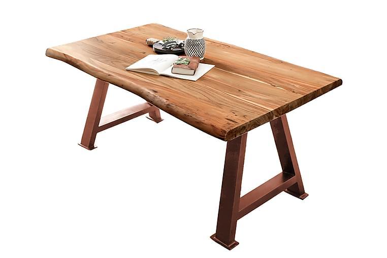 Ruokapöytä Raital 240 cm - Akaasia/ruskea - Huonekalut - Pöydät - Ruokapöydät & keittiön pöydät