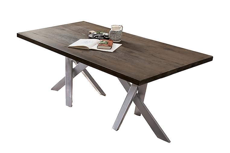 Ruokapöytä Raital 240 cm - Hopea - Huonekalut - Pöydät - Ruokapöydät & keittiön pöydät