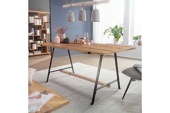 Ruokapöytä Rien 175 cm - Puu/Luonnonväri - Huonekalut - Pöydät - Ruokapöydät & keittiön pöydät
