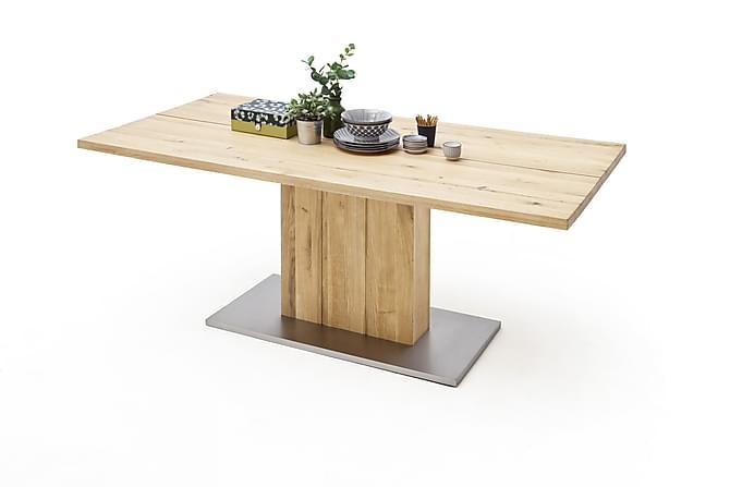 Ruokapöytä Santu 160 cm - Puu/Luonnonväri - Huonekalut - Pöydät - Ruokapöydät & keittiön pöydät