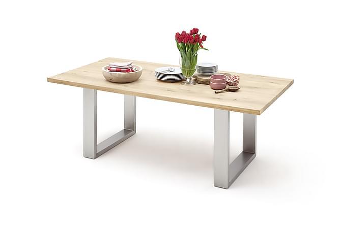 Ruokapöytä Santu 220 cm - Puu/Luonnonväri - Huonekalut - Pöydät - Ruokapöydät & keittiön pöydät