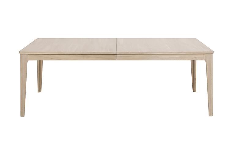 Ruokapöytä Starem 220 cm - Beige - Huonekalut - Pöydät - Ruokapöydät & keittiön pöydät