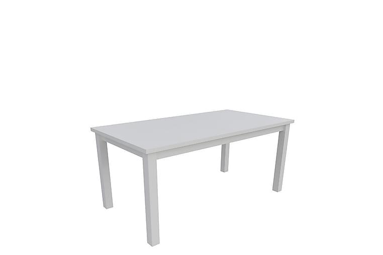 Ruokapöytä Tabell 170x90x78 cm - Valkoinen - Huonekalut - Pöydät - Ruokapöydät & keittiön pöydät