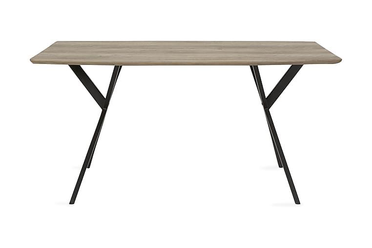 Ruokapöytä Teresa 160 cm - Harmaa - Huonekalut - Pöydät - Ruokapöydät & keittiön pöydät