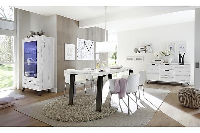 Ruokapöytä Terreno 168 cm - Vaalea Tammi - Huonekalut - Pöydät - Ruokapöydät & keittiön pöydät