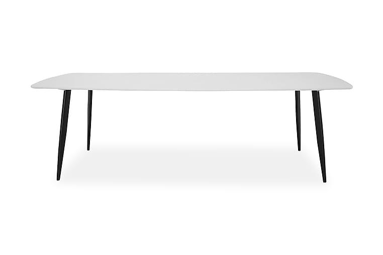 Ruokapöytä Tommy - Valkoinen/Musta - Huonekalut - Pöydät - Ruokapöydät & keittiön pöydät