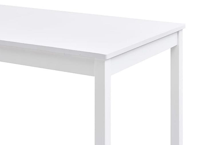 Ruokapöytä valkoinen 140x70x73 cm mänty - Valkoinen - Huonekalut - Pöydät - Ruokapöydät & keittiön pöydät