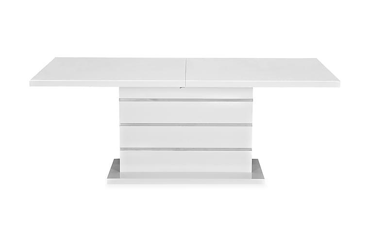 Ruokapöytä Wayne Jatkettava 200 cm - Valkoinen - Huonekalut - Pöydät - Ruokapöydät & keittiön pöydät