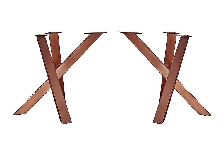 Ruokapöytä Westbury - Ruskea - Huonekalut - Pöydät - Ruokapöydät & keittiön pöydät