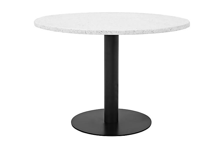 Samettituoli Chantor Lyx - Valkoinen/Musta - Huonekalut - Pöydät - Ruokapöydät & keittiön pöydät