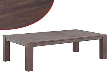 Kahvipöytä Täysi Akaasiapuu Savutyyli 105x55x45 cm