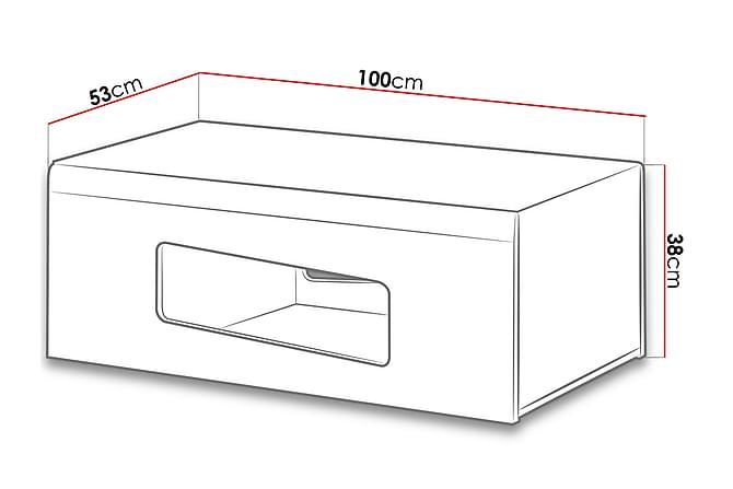 Rake Sohvapöytä 100x53,2x38 cm - Huonekalut - Pöydät - Sohvapöydät
