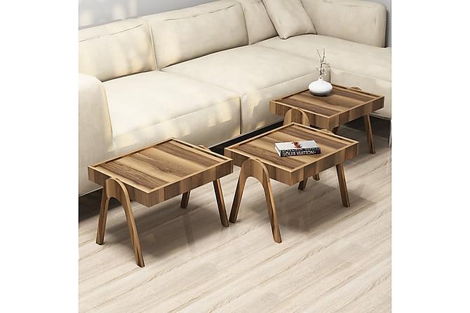 Sarjapöytä Amtorp 54 cm - Ruskea - Huonekalut - Pöydät - Sohvapöydät