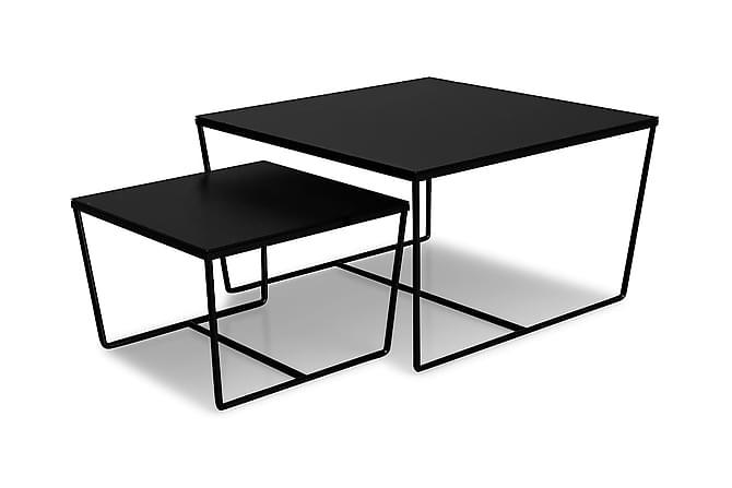 Sarjapöytä Stella 50 cm - Musta - Huonekalut - Pöydät - Sohvapöydät