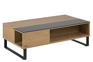 Sivupöytä Azalea 110 cm Tammikalvo/Musta
