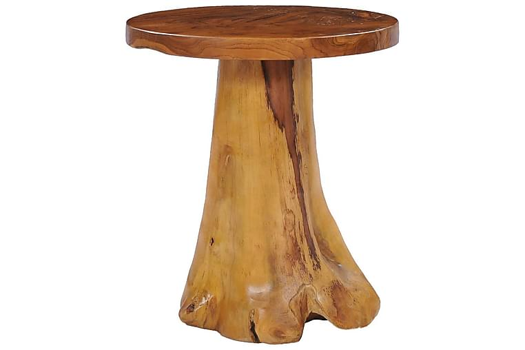 Sohvapöytä 40x40 cm täysi tiikki - Ruskea - Huonekalut - Pöydät - Sohvapöydät