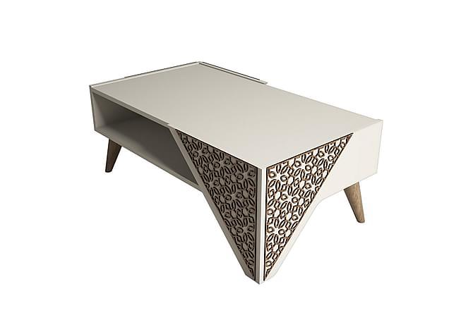 Sohvapöytä Amtorp 105 cm - Ruskea - Huonekalut - Pöydät - Sohvapöydät