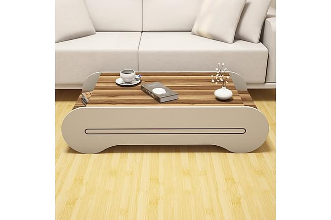 Sohvapöytä Amtorp 120 cm - Ruskea - Huonekalut - Pöydät - Sohvapöydät