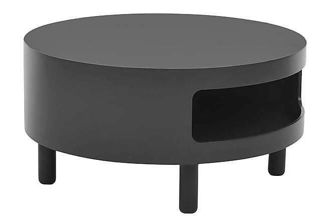 Sohvapöytä Ashvins 47 cm Pyöreä - Musta - Huonekalut - Pöydät - Sohvapöydät