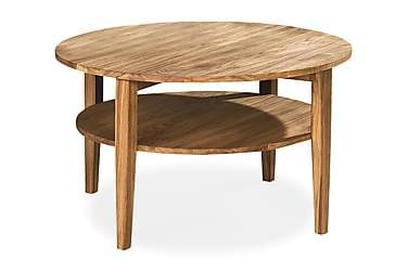 Sohvapöytä Avesta 80 cm Pyöreä Tammi