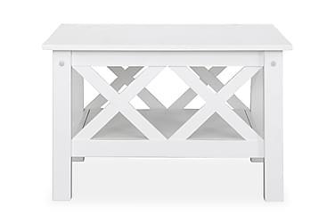 Sohvapöytä Aveza Valkoinen 80x80 cm