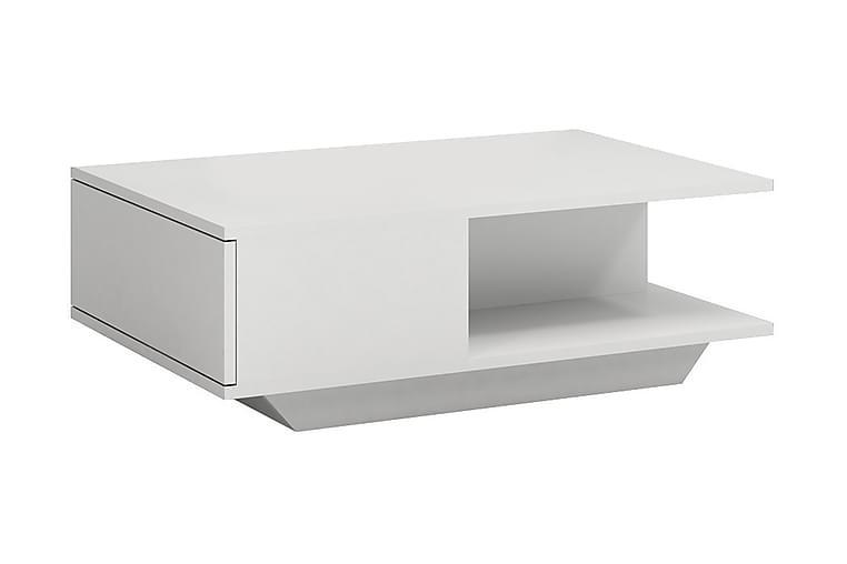 Sohvapöytä Avion 90 cm - Valkoinen - Huonekalut - Pöydät - Sohvapöydät