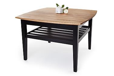 Sohvapöytä Chicago 80 cm Tammi/Musta