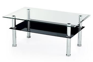 Sohvapöytä Contera 104x64 cm Lasi