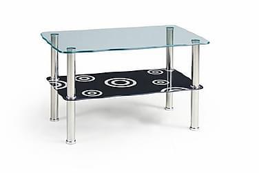 Sohvapöytä Darlina 75x45 cm Lasi