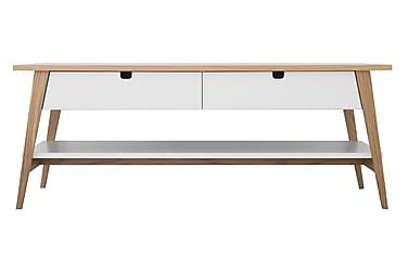 Sohvapöytä Dottir 130 cm 2 laatikolla