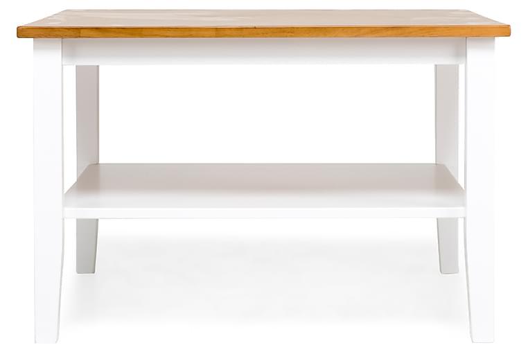 Sohvapöytä Elise 80 cm - Tammi/Valkoinen - Huonekalut - Pöydät - Sohvapöydät