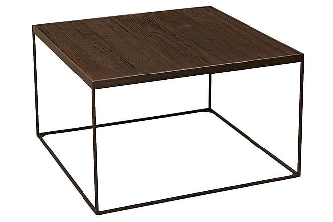 Sohvapöytä Epock 80 cm - Ruskea/Metalli - Huonekalut - Pöydät - Sohvapöydät