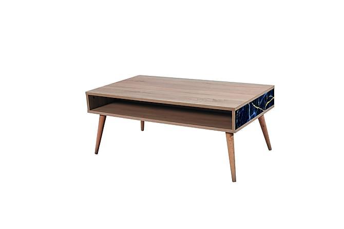 Sohvapöytä Gillberga 110 cm - Ruskea - Huonekalut - Pöydät - Sohvapöydät