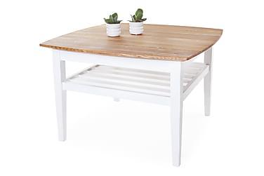 Sohvapöytä Grenå 80 cm Tammi/Valkoinen