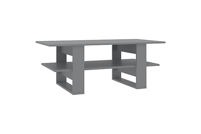 Sohvapöytä harmaa 110x55x42 cm lastulevy - Harmaa - Huonekalut - Pöydät - Sohvapöydät