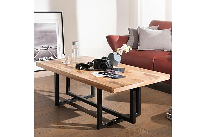 Sohvapöytä Hayda 115 cm - Puu/Luonnonväri - Huonekalut - Pöydät - Sohvapöydät