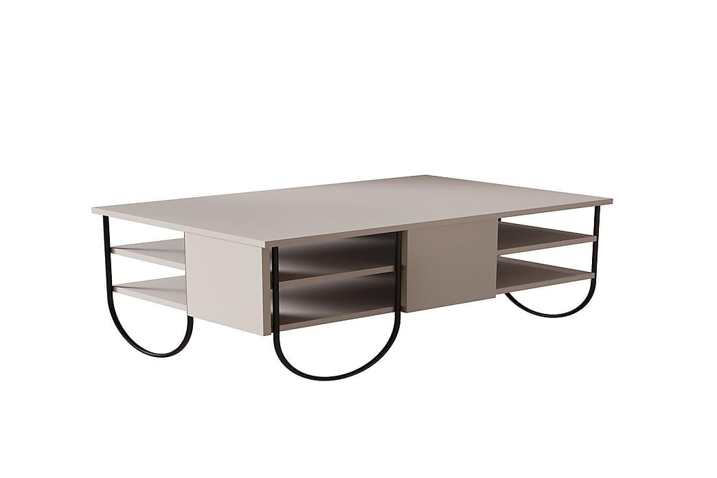 Sohvapöytä Hjortsered - Ruskea - Huonekalut - Pöydät - Sohvapöydät