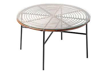 Sohvapöytä Koriander 80 cm Pyöreä Rottinki