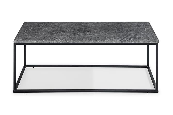 Sohvapöytä Ladonia 120 cm - Harmaa/Musta - Huonekalut - Pöydät - Sohvapöydät