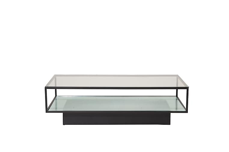 Sohvapöytä Maglehem 130 cm - Läpinäkyvä - Huonekalut - Pöydät - Sohvapöydät