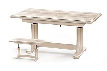 Sohvapöytä Mancinie 125x65 cm Korkeus- ja pituussäädettävä