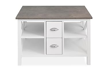 Sohvapöytä Mikael 80 cm laatikoilla